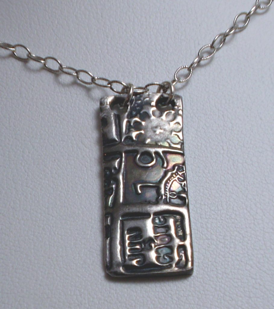 PMC Pendant by Paula Atwell