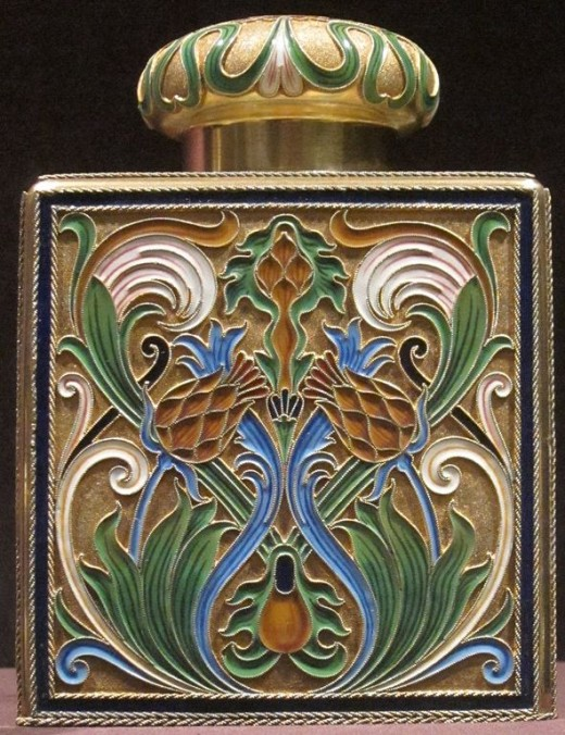 Cloisonne Bottle