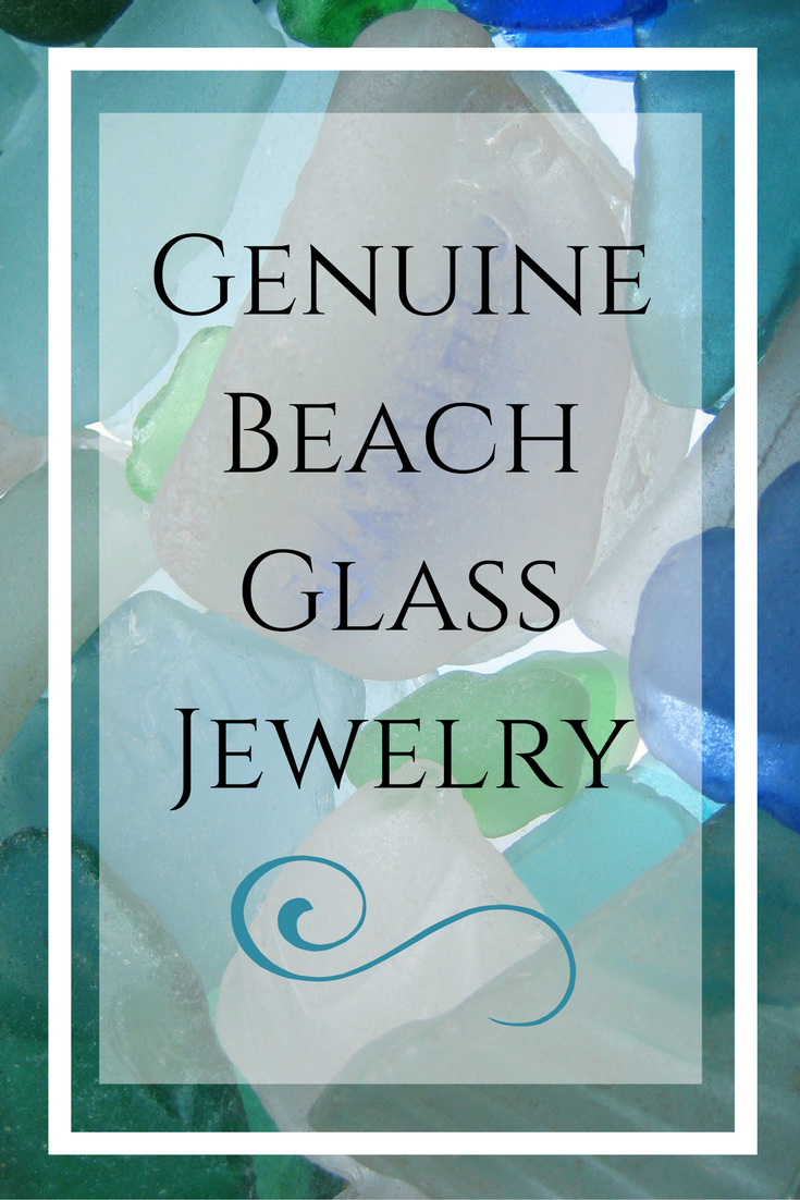 Genuine Beach Glass Jewelry
