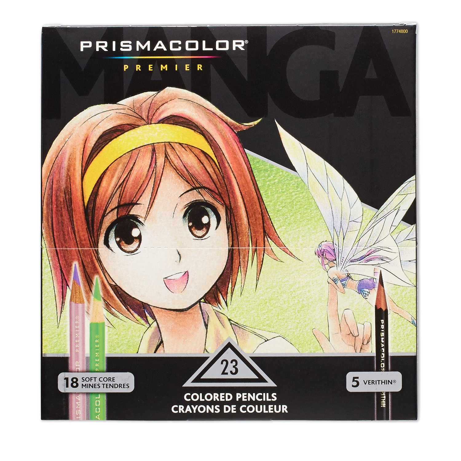 Anime and manga drawing kits for teens and adults