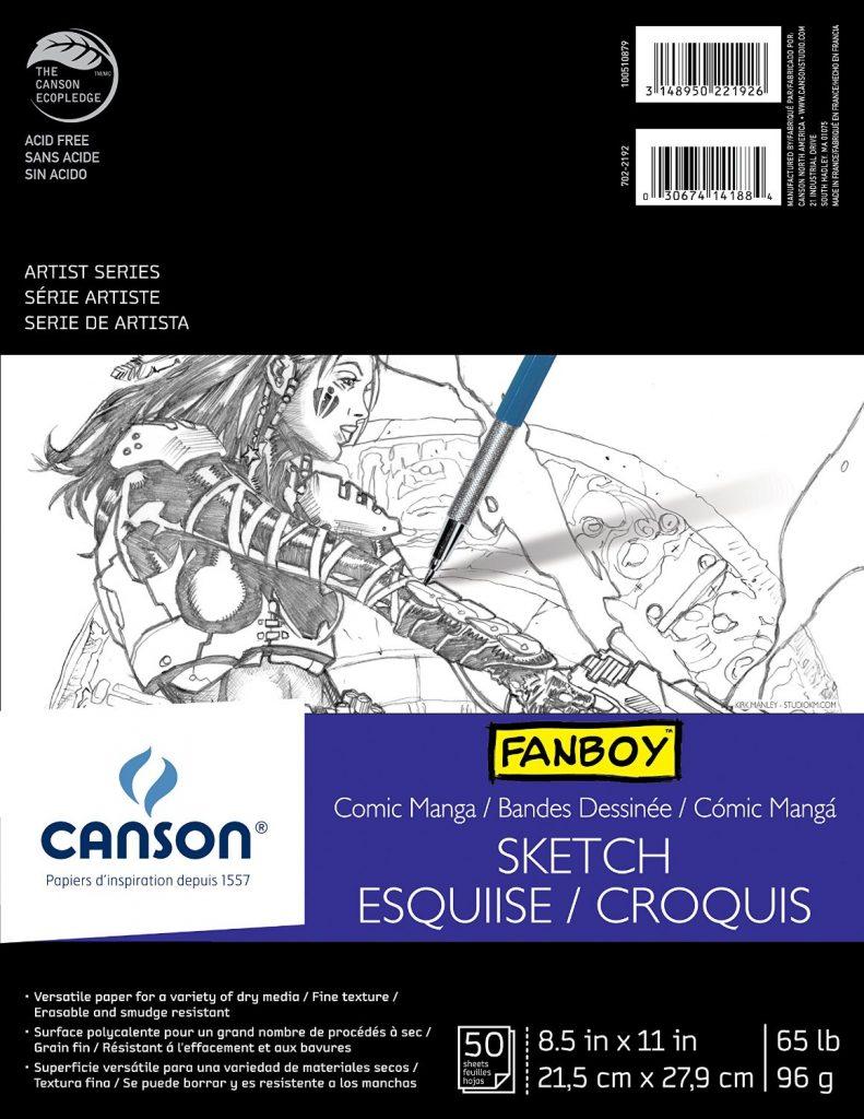 Manga Drawing Paper