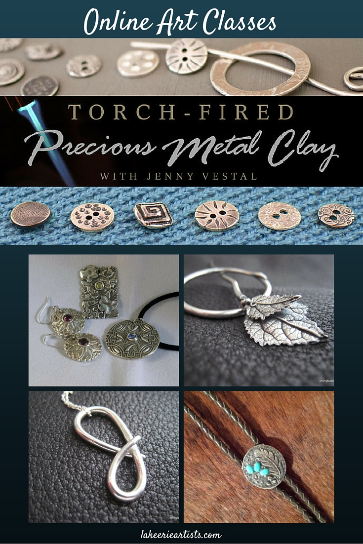 Torch-Fired Precious Metal Clay PMC