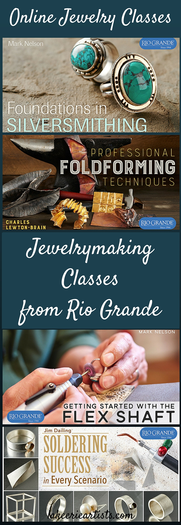 Online Jewelry Classes from Rio Grande