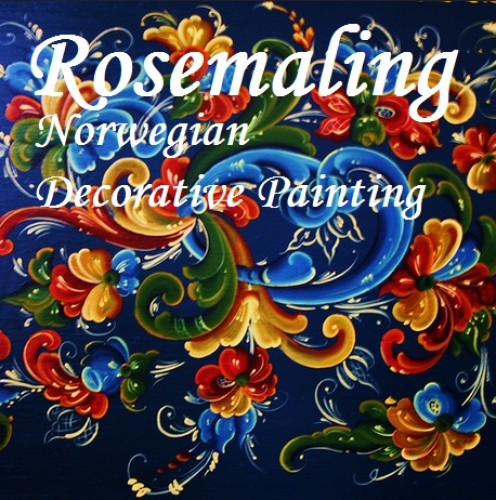Rosemaling | Norwegian Decorative Painting | Norway's Folk Art