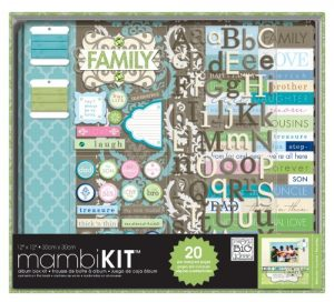 Scrapbook Supplies Kits for Teens and Adults