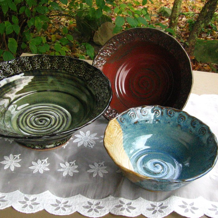 Tracy Shea Mixed Ceramic Bowls