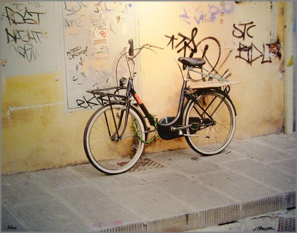 Jim Ptacek Old Bicycle Print