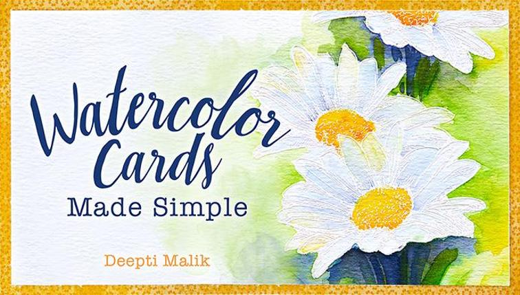 Watercolor Cards Made Simple